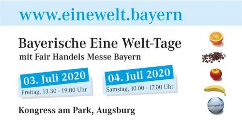 Abgesagt: Bayerische Eine Welt-Tage