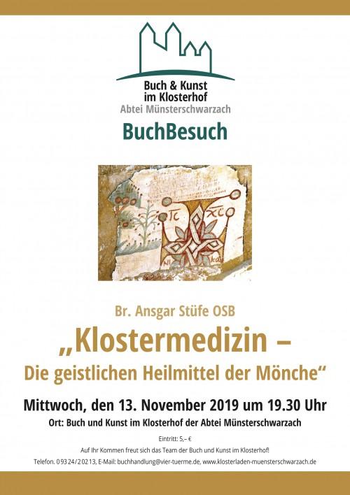"""BuchBesuch: """"Klostermedizin - Die geistlichen Heilmittel der Mönche"""""""