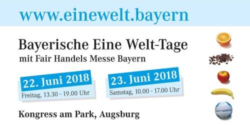 Bayerische Eine-Welt-Tage Augsburg