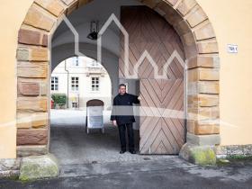 Klosterpforte Münsterschwarzach
